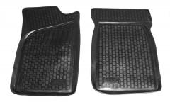Коврики в салон для Renault Kangoo '97-09 полиуретановые, черные (L.Locker) передние