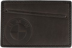 """Обложка для прав/тех.паспорта темно-коричневая """"BMW"""""""
