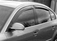 Фото 1 - Дефлекторы окон для Volkswagen Passat B5 '97-05, универсал, 4шт. (Cobra)