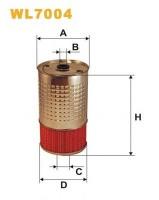 Масляный фильтр Wix WL7004