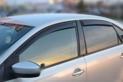 Фото 8 - Дефлекторы окон для Volkswagen Polo '10- седан (Cobra)