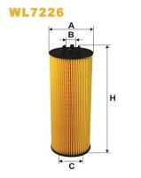 Масляный фильтр Wix WL7226