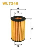 Масляный фильтр Wix WL7240