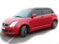 Дефлекторы окон для Suzuki Swift '10-17 (Cobra)