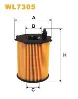 Масляный фильтр Wix WL7305