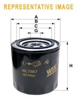 Масляный фильтр Wix WL7400