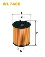 Масляный фильтр Wix WL7408