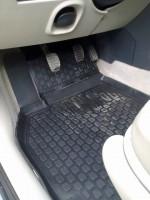 Фото 3 - Коврики в салон для Renault Megane '02-08 полиуретановые, черные (L.Locker)
