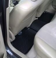 Фото 4 - Коврики в салон для Renault Megane '02-08 полиуретановые, черные (L.Locker)