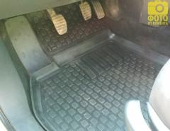 Фото 7 - Коврики в салон для Renault Megane '02-08 полиуретановые, черные (L.Locker)