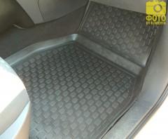 Фото 8 - Коврики в салон для Renault Megane '02-08 полиуретановые, черные (L.Locker)