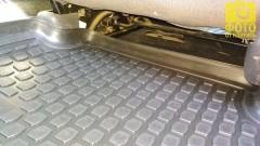 Фото 12 - Коврики в салон для Renault Megane '02-08 полиуретановые, черные (L.Locker)