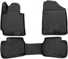 Коврики в салон для Hyundai Elantra MD '11-15 полиуретановые (Novline / Element) 3D