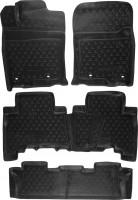 Коврики в салон для Lexus GX 460 '09- полиуретановые (Novline / Element) 3D 1+2+3 ряд