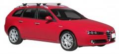 Багажник на рейлинги для Alfa Romeo 159 Sportswagon '05-11, сквозной (Whispbar-Prorack)