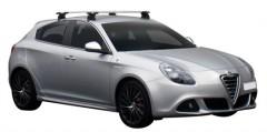 Багажник на крышу для Alfa Romeo Giulietta '10-, сквозной (Whispbar-Prorack)