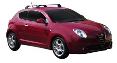 Багажник в штатные места для Alfa Romeo Mito '08-, до края опоры (Whispbar-Prorack)