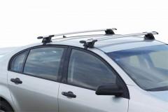 Багажник на рейлинги для Daewoo Nubira '97-04 универсал, сквозной (Whispbar-Prorack)