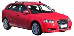 Багажник на крышу для Audi A3 '04-12, до края опоры (Whispbar-Prorack)