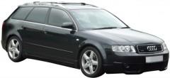 Багажник на рейлинги для Audi A4 Avant '00-08, вровень рейлинга (Whispbar-Prorack)