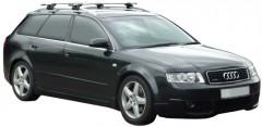 Багажник на рейлинги для Audi A4 Avant '00-08, сквозной (Whispbar-Prorack)