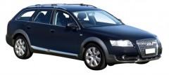 Багажник на рейлинги для Audi A6 Allroad '05-14, вровень рейлинга (Whispbar-Prorack)