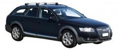 Багажник на рейлинги для Audi A6 Allroad '05-14, сквозной (Whispbar-Prorack)