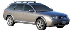 Багажник на рейлинги для Audi A6 Allroad '97-05, сквозной (Whispbar-Prorack)