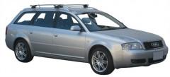 Багажник на рейлинги для Audi A6 Avant '97-05, сквозной (Whispbar-Prorack)