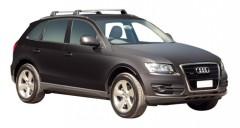 Багажник на низкие рейлинги для Audi Q5 '08-17, до края опоры (Whispbar-Prorack)