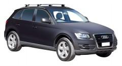 Багажник на низкие рейлинги для Audi Q5 '08-17, сквозной (Whispbar-Prorack)