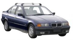 Багажник в штатные места для BMW 3 E36 '90-99, до края опоры (Whispbar-Prorack)