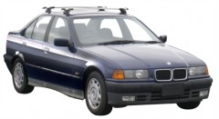 Багажник в штатные места для BMW 3 E36 '90-99, сквозной (Whispbar-Prorack)