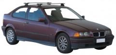 Багажник в штатные места для BMW 3 E36 Compact '90-99, сквозной (Whispbar-Prorack)