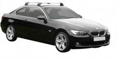 Багажник в штатные места для BMW 3 E92 '05-11, до края опоры (Whispbar-Prorack)