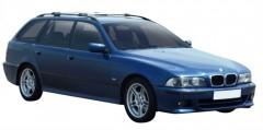 Багажник на рейлинги для BMW 5 E39 Touring '96-03, вровень рейлинга (Whispbar-Prorack)