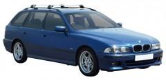 Багажник на рейлинги для BMW 5 E39 Touring '96-03, до края опоры (Whispbar-Prorack)