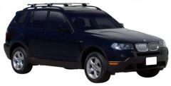 Багажник на рейлинги для BMW X3 E83 '03-09, сквозной (Whispbar-Prorack)