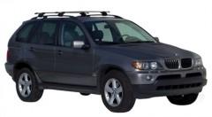 Багажник на рейлинги для BMW X5 E53 '00-07, сквозной (Whispbar-Prorack)