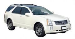 Багажник на рейлинги для Cadillac SRX '04-10, вровень рейлинга (Whispbar-Prorack)