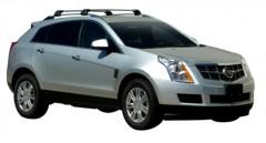 Багажник на рейлинги для Cadillac SRX '11-, до края опоры (Whispbar-Prorack)