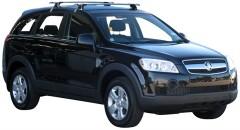 Багажник на крышу для Chevrolet Captiva '06-, сквозной (Whispbar-Prorack)
