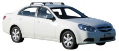 Багажник на крышу для Chevrolet Epica '07-12, до края опоры (Whispbar-Prorack)