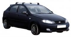Багажник на крышу для Chevrolet Lacetti '03-12 хэтчбек, до края опоры (Whispbar-Prorack)
