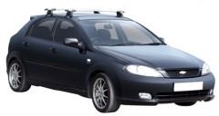 Багажник на крышу для Chevrolet Lacetti '03-12 хэтчбек, сквозной (Whispbar-Prorack)