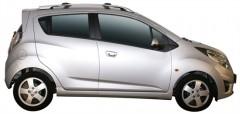 Фото 2 - Багажник на рейлинги для Chevrolet Spark '11-, вровень рейлинга (Whispbar-Prorack)