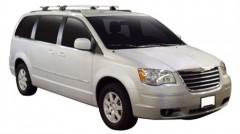Багажник на рейлинги для Chrysler Grand Voyager '08-, сквозной (Whispbar-Prorack)