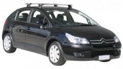 Багажник в штатные места для Citroen C4 '05-09 хэтчбек, сквозной (Whispbar-Prorack)