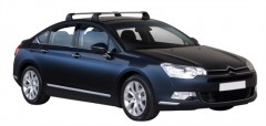 Багажник в штатные места для Citroen C5 '08- седан, до края опоры (Whispbar-Prorack)