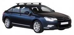 Багажник в штатные места для Citroen C5 '08- седан, сквозной (Whispbar-Prorack)